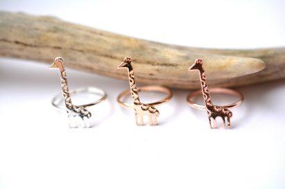 Lieve Giraffe ring