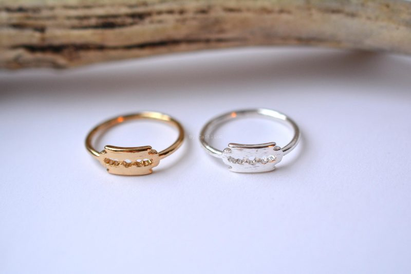 Razorblade ring