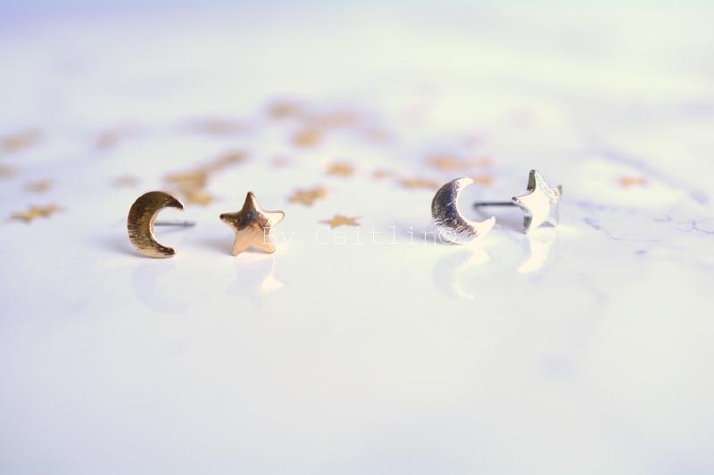 Stud oorbellen - By Caitlin©