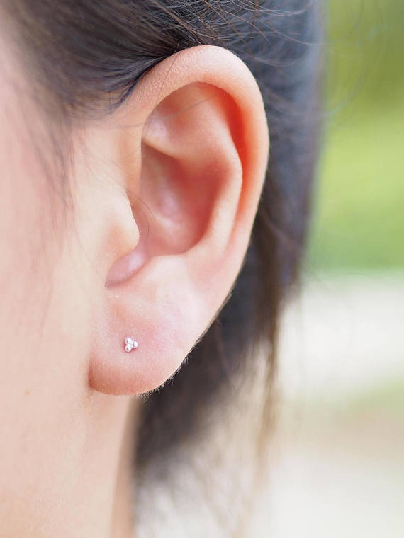 zilveren oorbellen studs