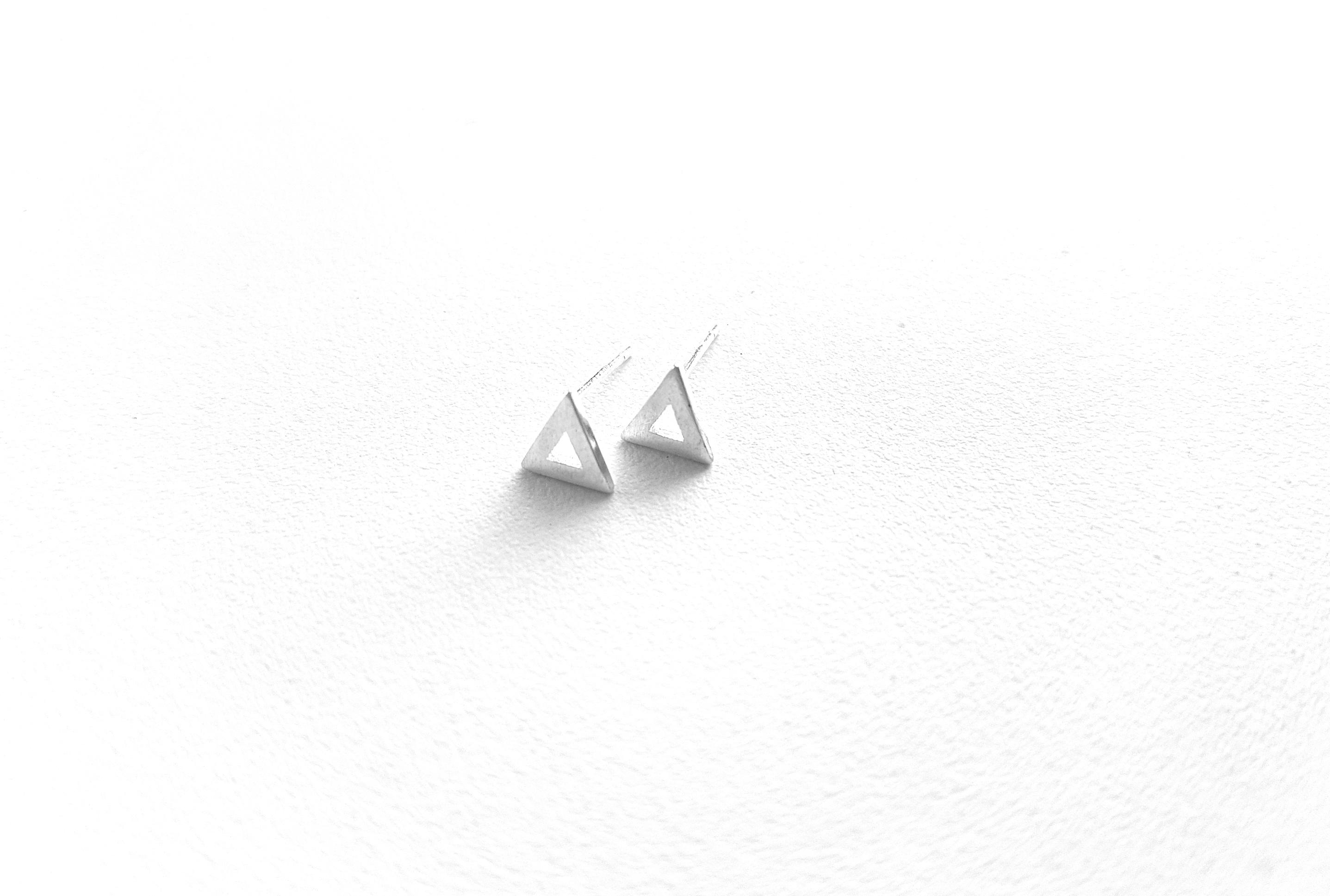 driehoek oorbellen