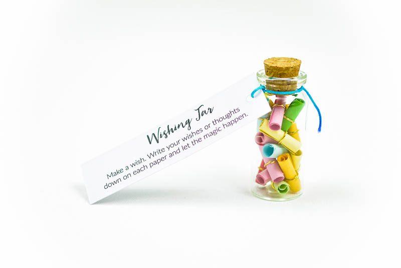 Wishing Jar Wens Flesje met papiertjes